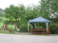 Sitzbereich+Schaukel