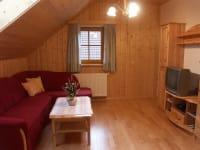 Wohnzimmer Ferienwohnung Sternenhimmel