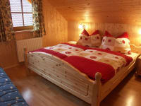 Schlafzimmer Ferienwohnung Sternenhimmel