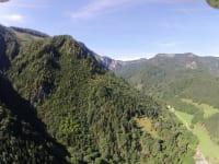 im Hintergrund liegen Ödboden, Burgspitz und Almkogel