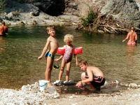 Der nahe gelegene Ybbsfluss verspricht ein einzigartiges Naturbadeerlebnis.