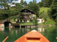 Ausfahrt mit unserem Boot