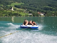 Tubing am Attersee