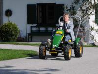 Trakorrennen am Bauernhof..