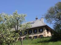 Haus von Obstgarten
