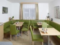 Frühstücksraum Sitzplätze