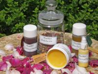 Produkte aus dem Kräutergarten