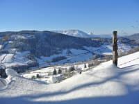 Skitouren rund um die Almhütte