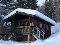 Schwammerlhütte im Winter