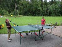 spass beim tischtennis