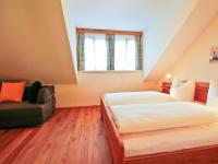Schlafzimmer der Ferienwohnung 1