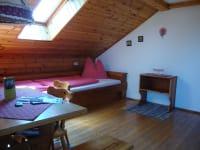 Wohnschlafzimmer Schafbergblick