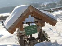 Winterstimmung beim Hof