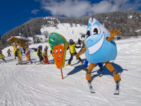 Skispaß mit Gasti
