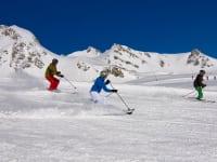 Skifahren im Gasteinertal
