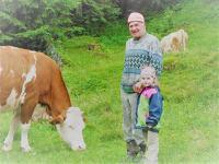 Bauernhofurlaub - Kontakt mit Tieren