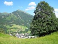 Blick ins Tal nach Bad Hofgastein