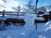 Schneemann bauen, Bob fahren, Spaß im Schnee haben