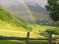 Regenbogen über Remsach