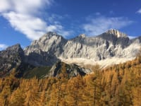Der Dachstein im Herbst