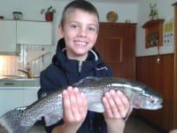 Fischen im Wildpark Untertauern