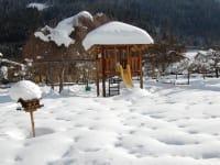 Unser Spielplatz im Winter