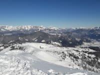 Berge über Flachau