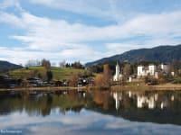 Goldegger See mit Schloss
