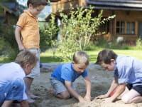Sandburgenbau-Wettbewerbr