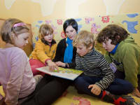Kinderbetreuung Programm Winter
