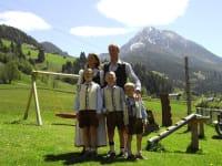 Familienfoto Sommer
