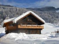 Haus mit Märchenwald