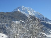Blick auf die Ennskrax im Winter
