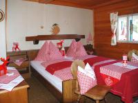 eines der Zimmer im Ferienhausanno 1679