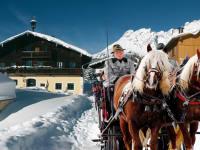 Kutschenfahrt im verschneiten Paradies Hochkönig