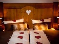 Doppelbett - 2 Etage der Kuschelhütten