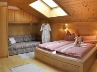 Schlafzimmer in der Ferienwohnung Eschenstube