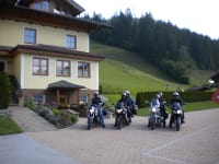 Motorradfahrer willkommen