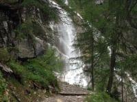 der Wanderweg zum Tappenkarsee