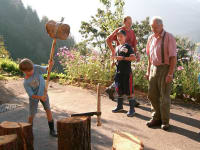 Holzschindel machen