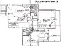 Skizze Appartement 2