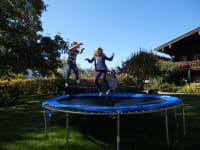Spaß am Trampolin