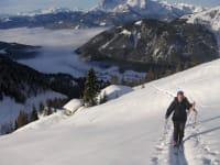 In Werfenweng kann man sehr schöne Skitouren unternehmen