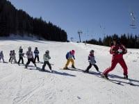 In der Skischule auch mit Ganztagesbetreuung sind Ihre Kinder bestens aufgehoben