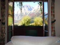 alle Zimmer in der Wildau mit Bergblick