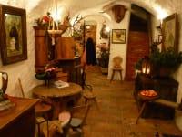 Vorhaus mit Gewölbe im Erbhof