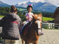 Am Rücken der Pferde...