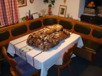Vom Feld auf den Tisch - selbstgebackenes Bauernbrot
