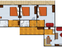 Grundriß Appartement II