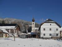 Flattnerhof im Winter